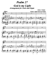 Genevan Psalm 27 for Choir and Organ