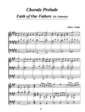 Chorale Prelude - Faith of our Fathers